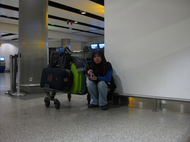 Lone ranger or travelling alone?